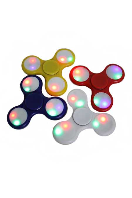 Flashing Light Hand Spinner Fidget Toys