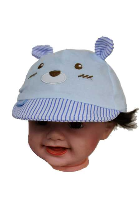 Baby Baseball Style Dog Design Softness Hat