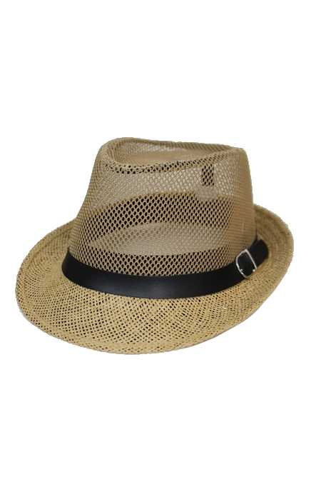 Mesh Crown Unisex Fashion Fedora