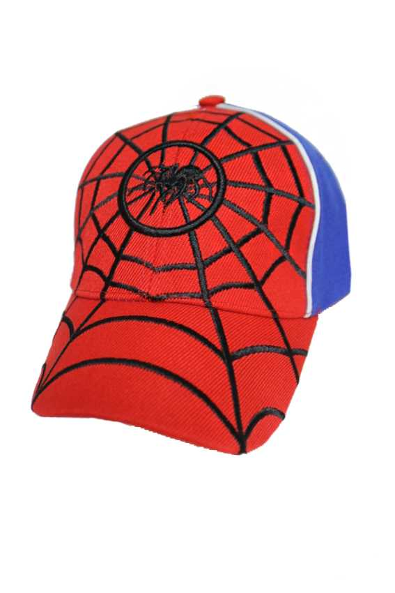 Spider Man Embroidery Youth Baseball Cap
