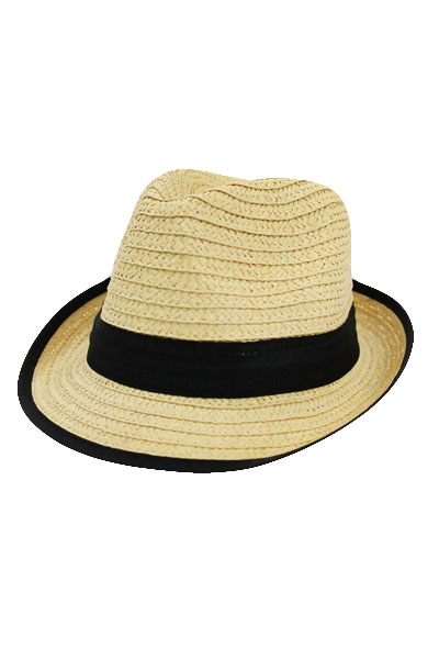 Straw fedora Hats for Kids Youth