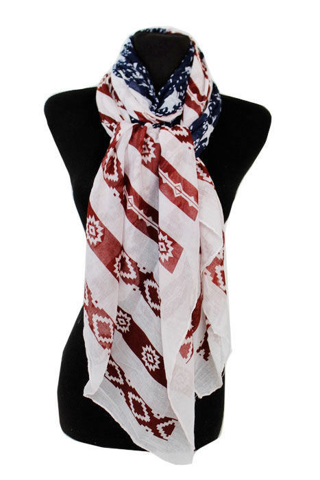 American Flag Design Super softness regular Scarf