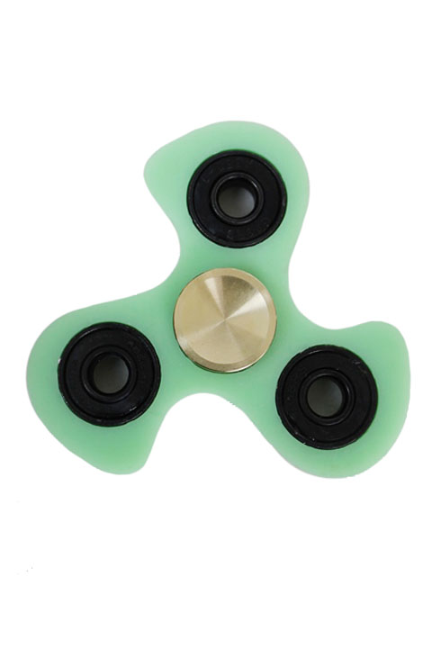 Extra Built Swirl Ninja Star Glow In The Dark Fidget Spinner