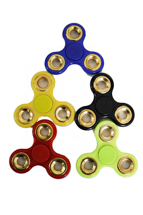 Gold Plated Ring Hand Spinner Fidget Toys