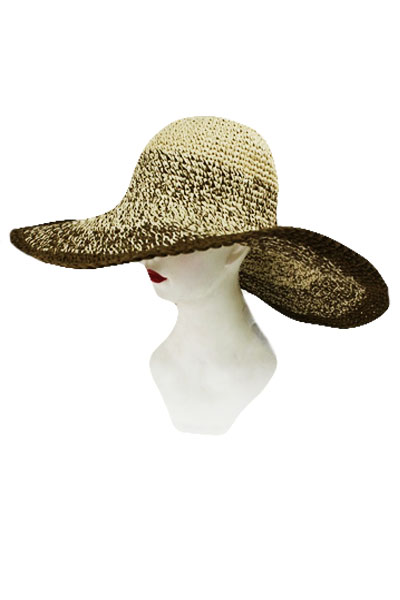 how to add wire to a hat brim