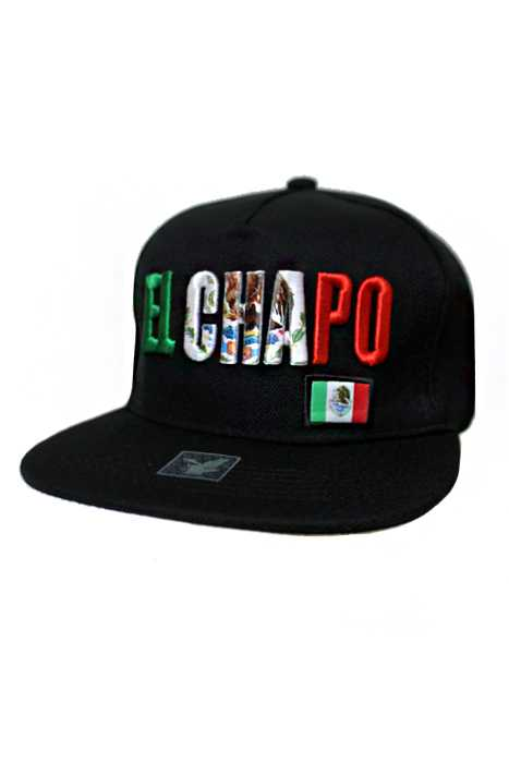 El Chapo Embossed Fashion Snap Back