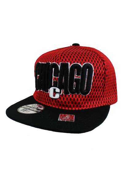 Crown Mesh Chicago Snap Back