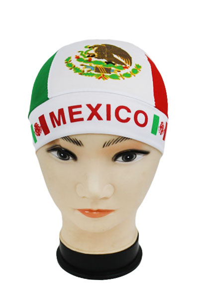 Mexico Flag Head Wrap