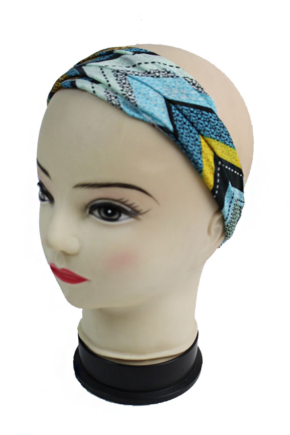 Colorful Tribal Chevron Spring Head Bands