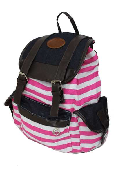 Urban Canvas Stripped Backpack