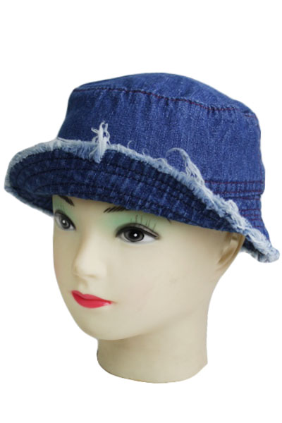 Plain Denim washing Bucket Style Kid Hat