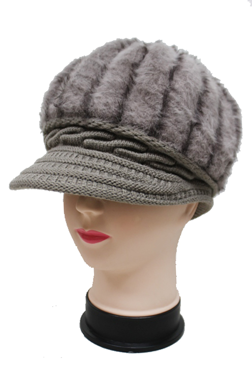 Felt Luxury Angora Baker Boy Hat