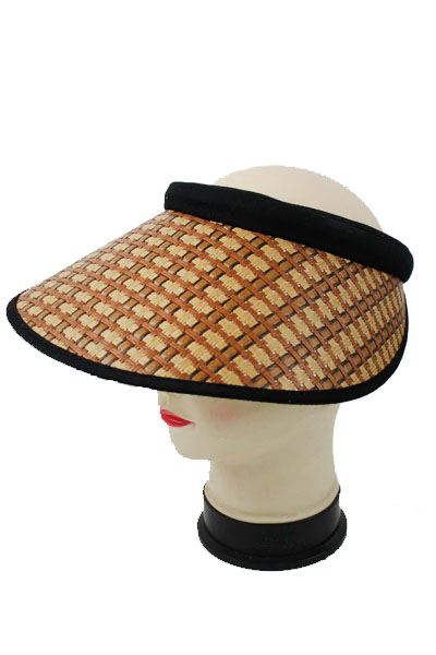 Natural Big Visor Sun Hat