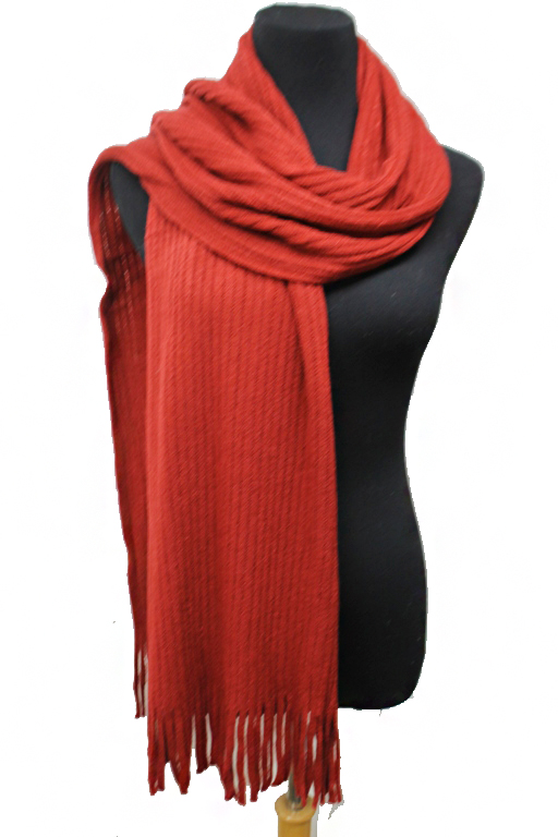 Unisex Stretch Ribbed Knit Softness Scarves