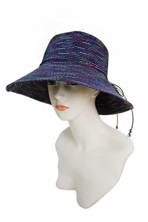 Bright and Bold Colorful Mix Color Fashion Lady Bucket Hat