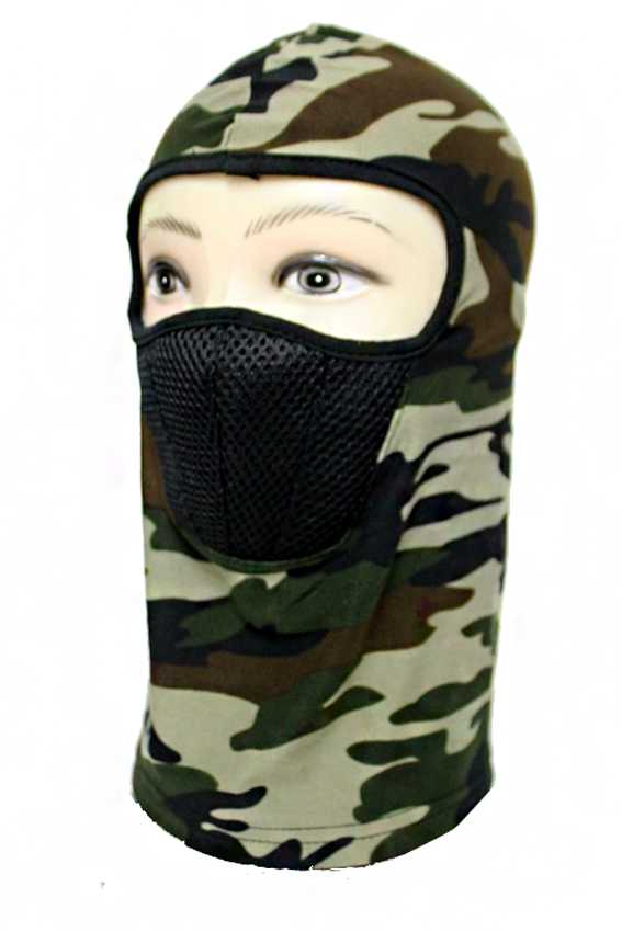 Military Camouflage Printed Outdoor Ski Motorcycle Cycling Balaclava Full Face Mask Neck