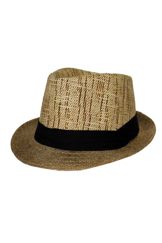 Reptile Textured Two Tone Fedora