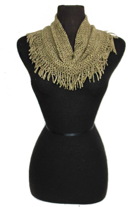 Ultimate Shimmer Mini Tunnel Softness Fashion Scarves