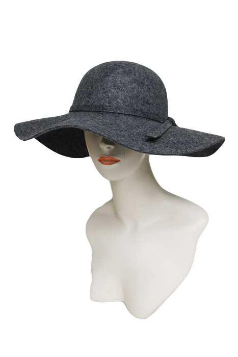 Boho Chic Authentic Wool Floppy Hat