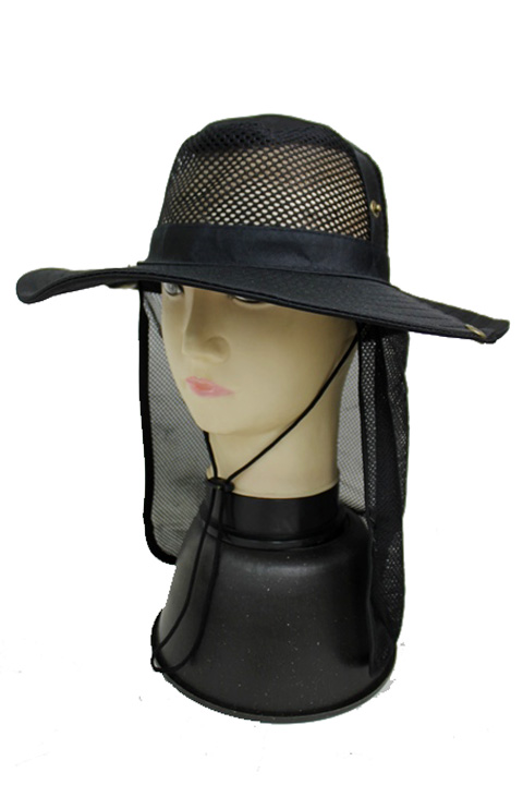 Total Mesh Neck Cover Outdoor Boonie Fisherman Hat