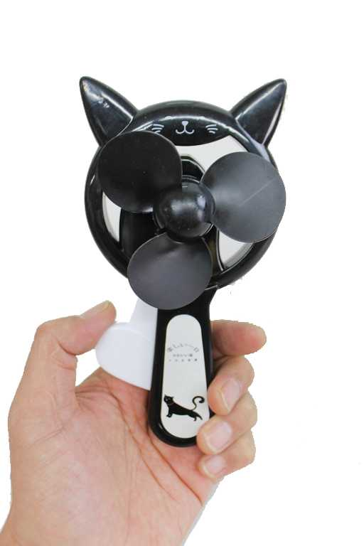 Kitty Cat Novelty Hand Held Fan