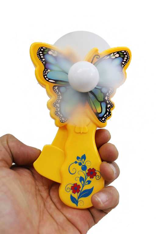 Butterfly Animated Hand Held Operated Fans