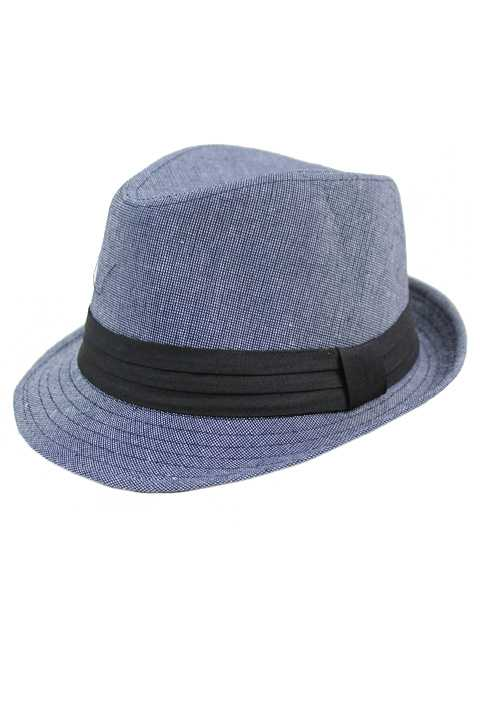 Classic Cloth Patterned Casual Wear Fedora Hat
