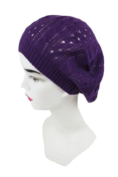 Knit Braid Beret