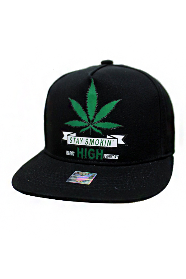 Stay smoking High For Life Street Fashion Snap back