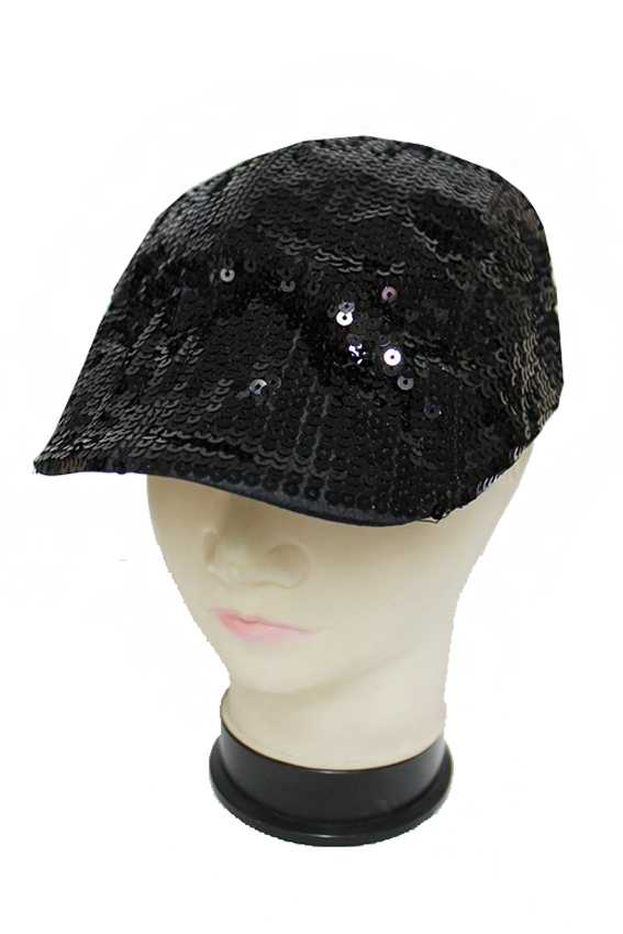 Bling Bling and Glitter Felt Sequins Ivy Cap