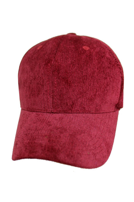 Ultra-Soft Ribbed Corduroy Baseball Hat