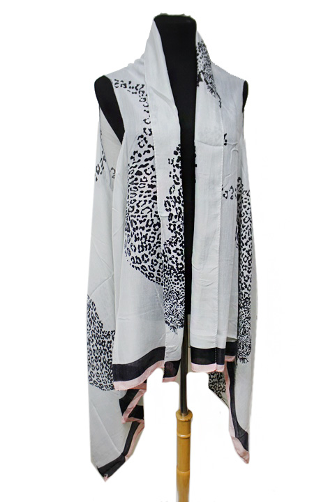 Bold And Fierce Iconic Leopard Softness Kimono Vest