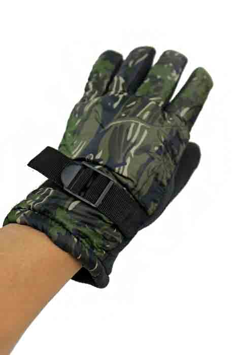 Camouflage and Natural Hunt Camouflage Waterproof Gloves for Men Thick Super warm