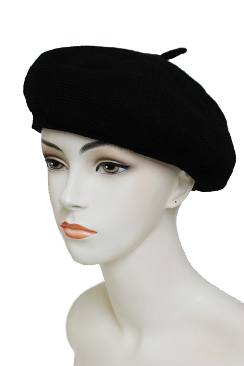Chic Fashion Mesh Textured French Beret