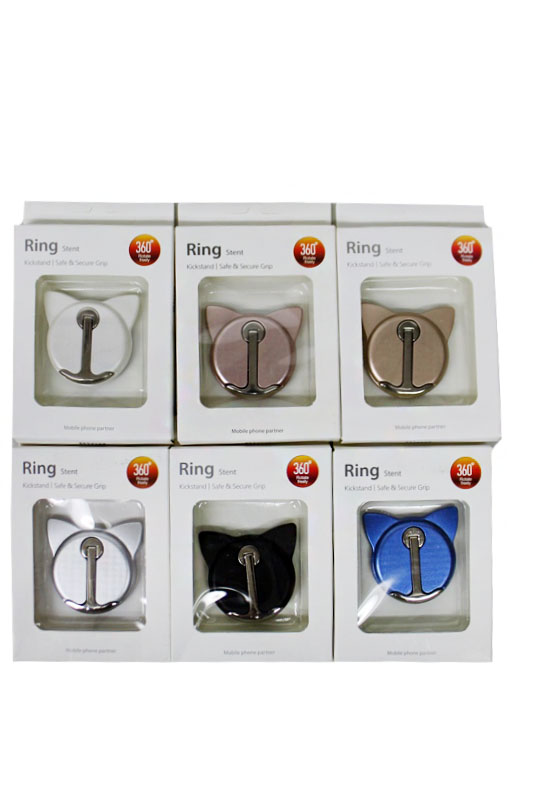 Animal Ear Design Universal Mobile Phone Finger Grip Ring Holder