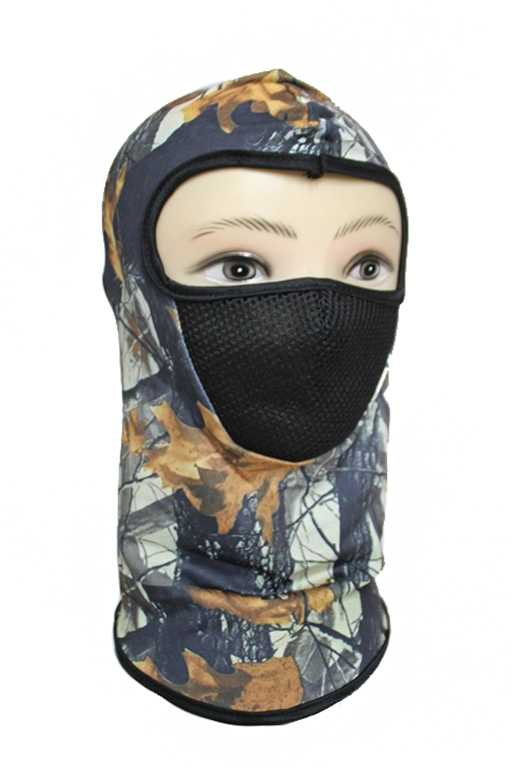 Hunting Camouflage Mesh Mouth Breathable Full Face Neck Masks