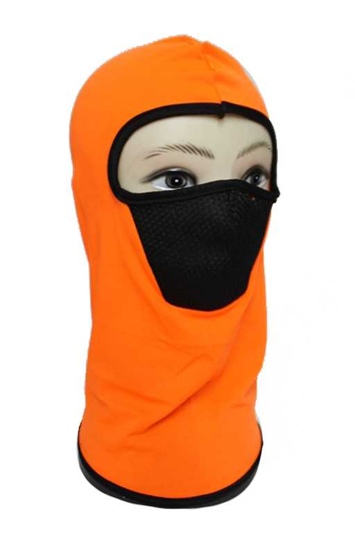 Neon Lycra Full Face Neck Outdoor Masks