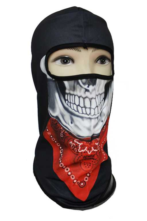 Rebel Skull Mask Print Full Face Outdoor Masks