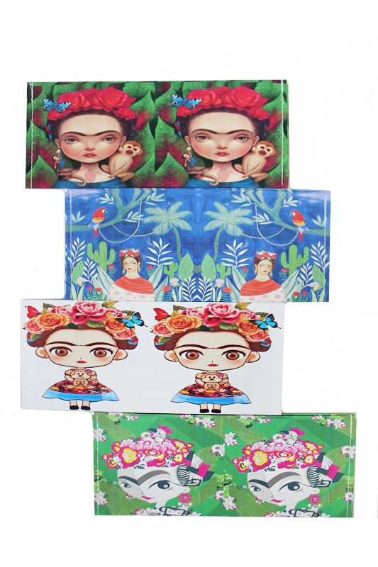 Novelty Bill Holder On Frida Kahlo Wallets
