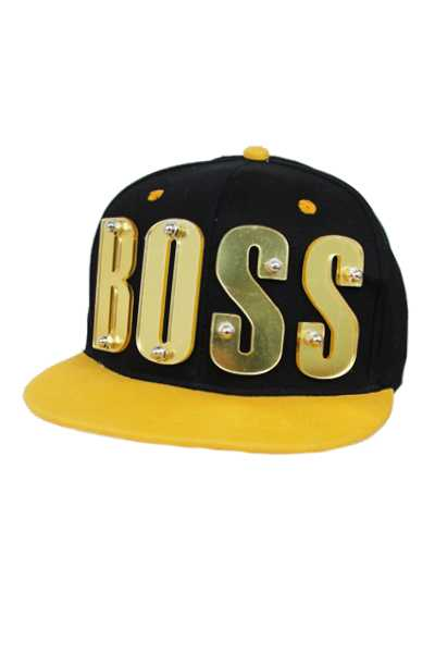 BOSS,COOL,OBEY Acrylic Hand-Made Snap Back