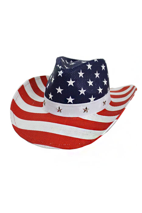 starspangled cowboy Go all-american with a straw cowboy hat and a blue or red bandana share the goodies with your guests and pass out glow flags, wands,.