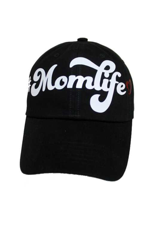 MOM LIFE Patch Design Baseball Style Cap
