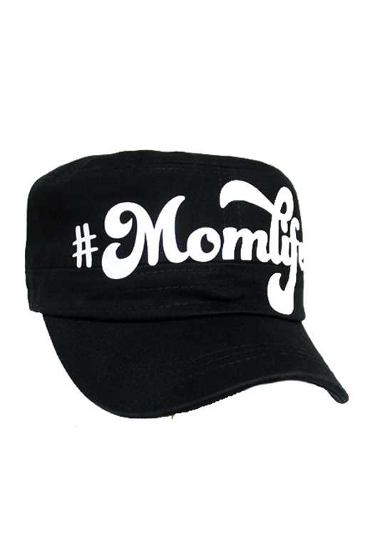 MOM LIFE Patch Design Cadet Cap