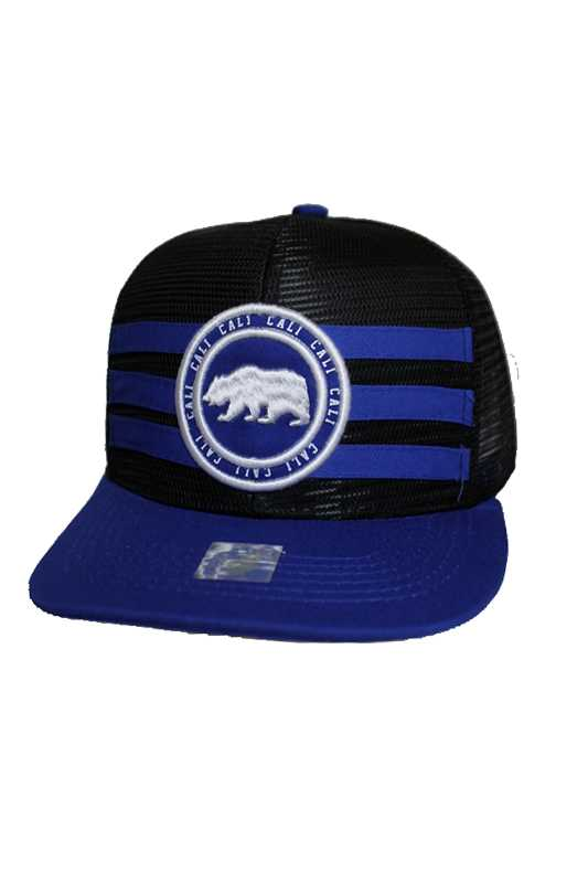 Cali Bear Street Wear Fashion Mesh Snap Back