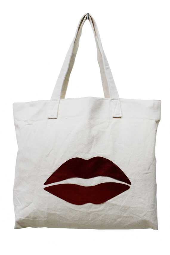 Various Sequins Patched Tapestry Tote Bag