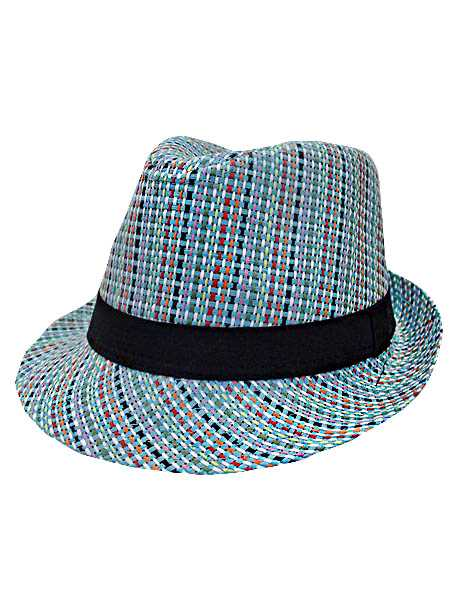 Stripe Colorful fedora