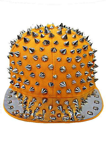 Spike Studs Yellow Snap Back
