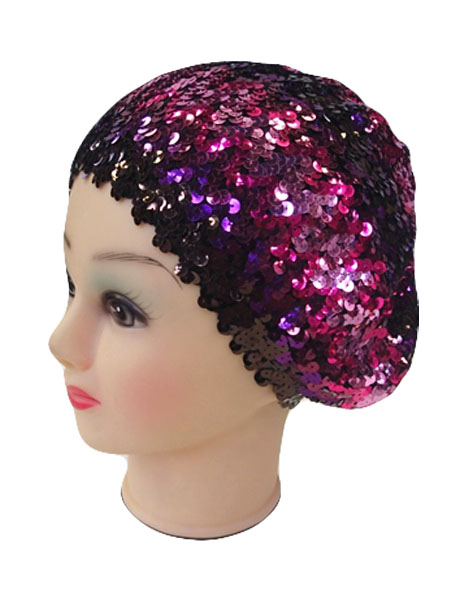 Shiny Sequins Colorfully Beret