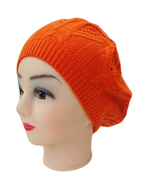 Knitted Design Beret