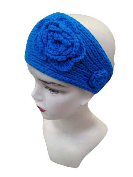 Knitted Color Full Head Band